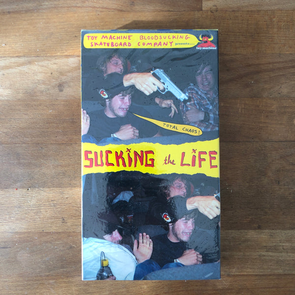 "Toy Machine ""Sucking The Life"" VHS - NEW IN BOX"