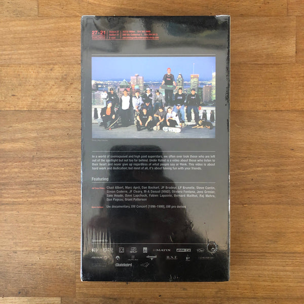 Underworld Underrated VHS - NEW IN BOX - CANADA UNDERDOGS