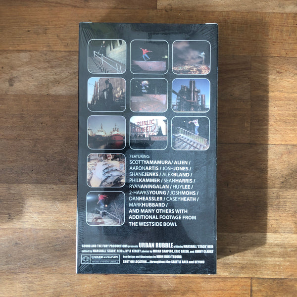"""Urban Rubble"" VHS - NEW IN BOX"