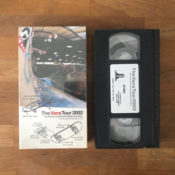 Vans Tour 2002 VHS - UK VANS TEAM