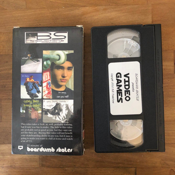 Video Games VHS