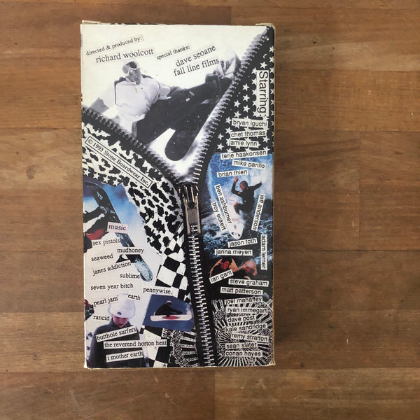 Volcom Alive We Ride VHS - 1993 CLASSIC