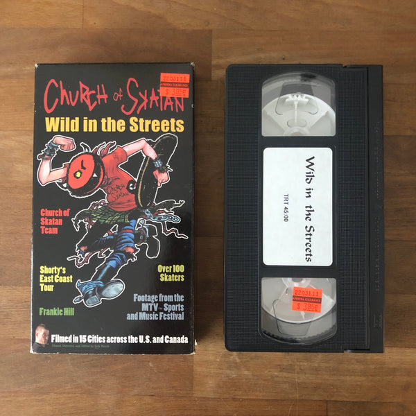 Church of Skaten Wild In The Streets VHS
