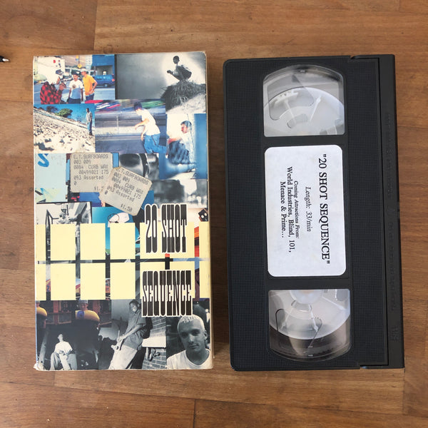 World Industries 20 Shot Sequence VHS - UNBELIEVABLY RARE  !!!