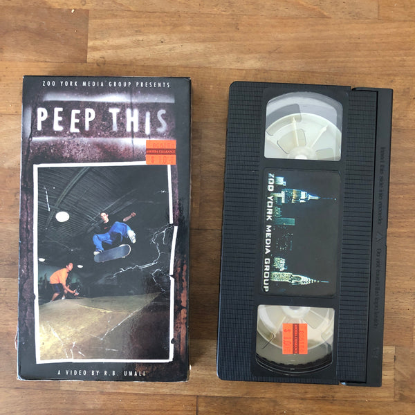 Zoo York Peep This VHS - CLASSIC