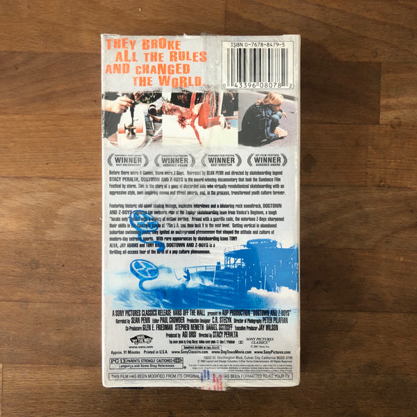 """Dogtown and Z-Boys"" Documentary VHS - NEW IN BOX"