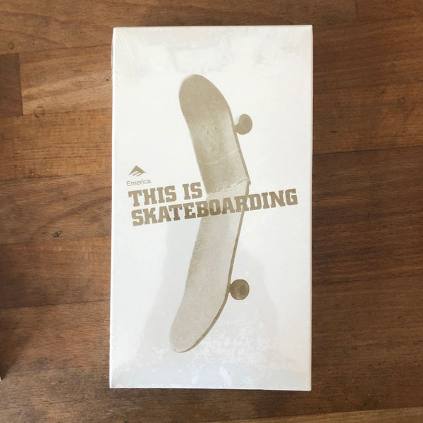 "Emerica ""This Is Skateboarding"" VHS - NEW IN BOX"