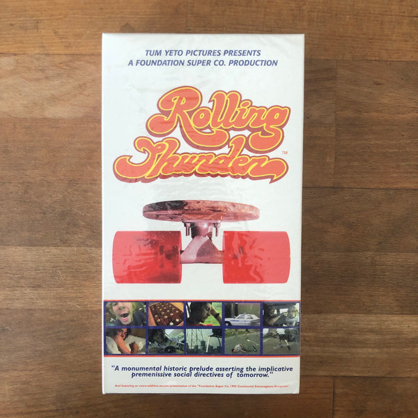 "Foundation ""Rolling Thunder"" VHS - NEW IN BOX"