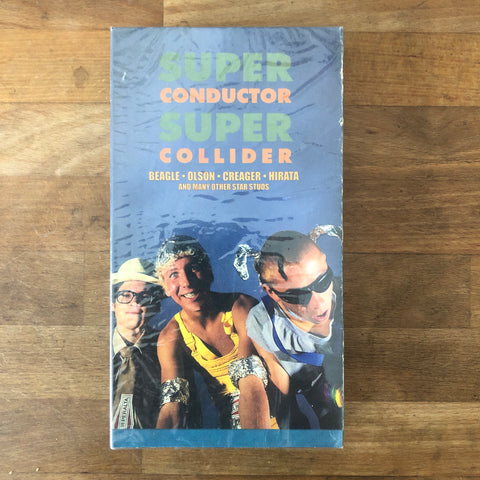 "Foundation ""Super Conductor Super Collider"" VHS - NEW IN BOX"