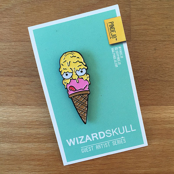 Ice Cream Homer by Wizard Skull