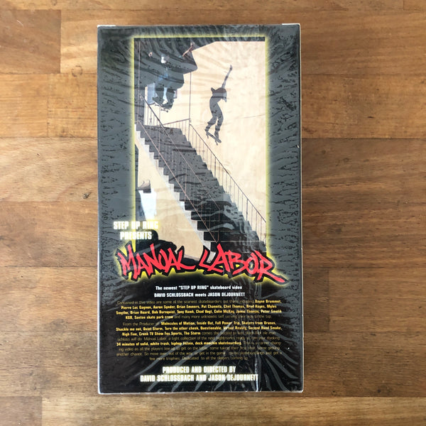 """Manual Labor"" VHS - NEW IN BOX"