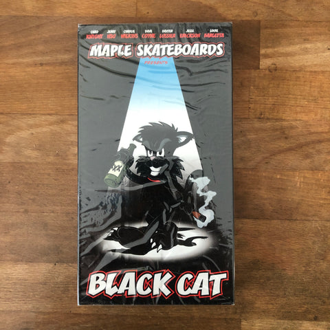 "Maple Skateboards ""Black Cat"" VHS - NEW IN BOX"