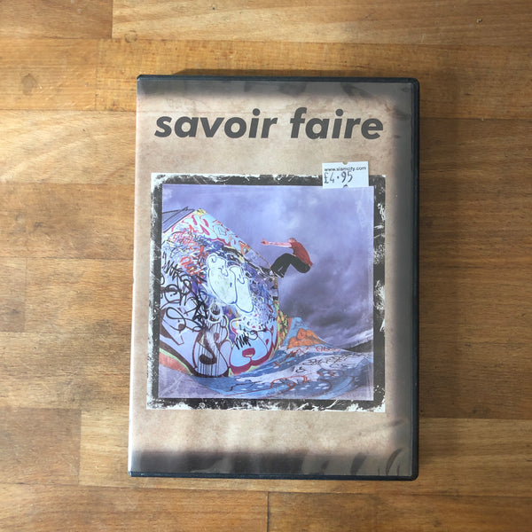Savior Faire DVD - UK REPRESENTS