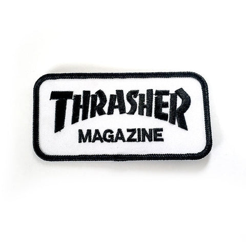 Thrasher Bar Logo Patch - Black