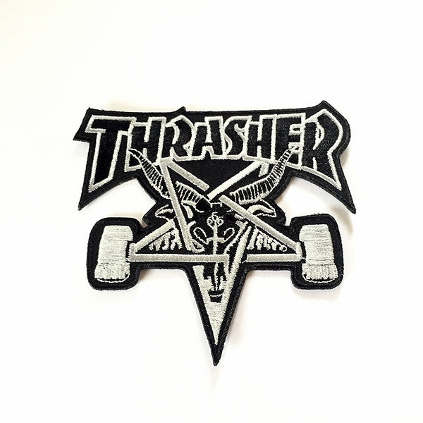 Thrasher Skategoat Patch - Black