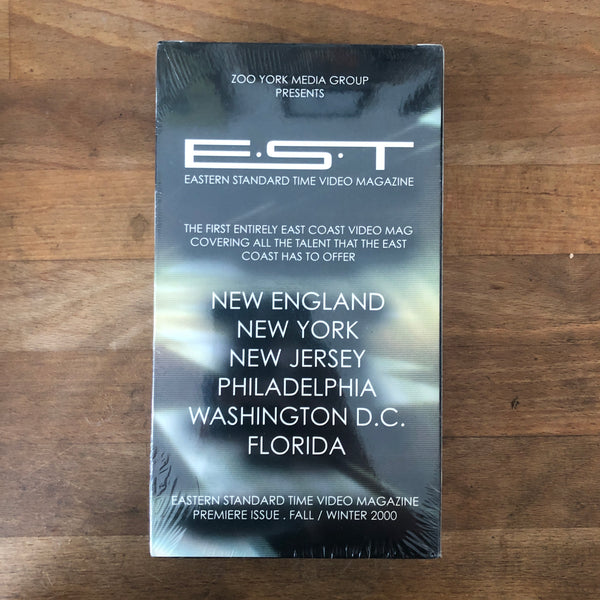 "Zoo York ""EST Vol 1"" VHS - NEW IN BOX"