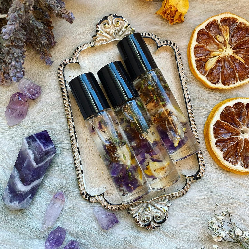 Calming Clarity Lemon Lavender Essential Oil Roller Ball Perfume