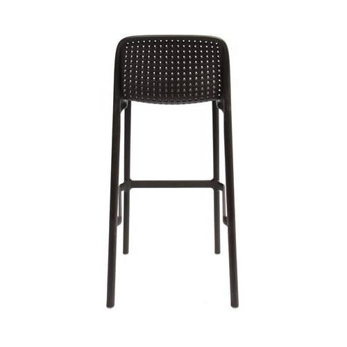 Stanford Mesh Bar Stool 76cm Chocolate