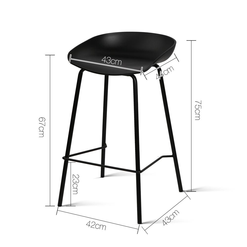 Swell Jarvie Bar Stool Set Of 2 Black Spiritservingveterans Wood Chair Design Ideas Spiritservingveteransorg