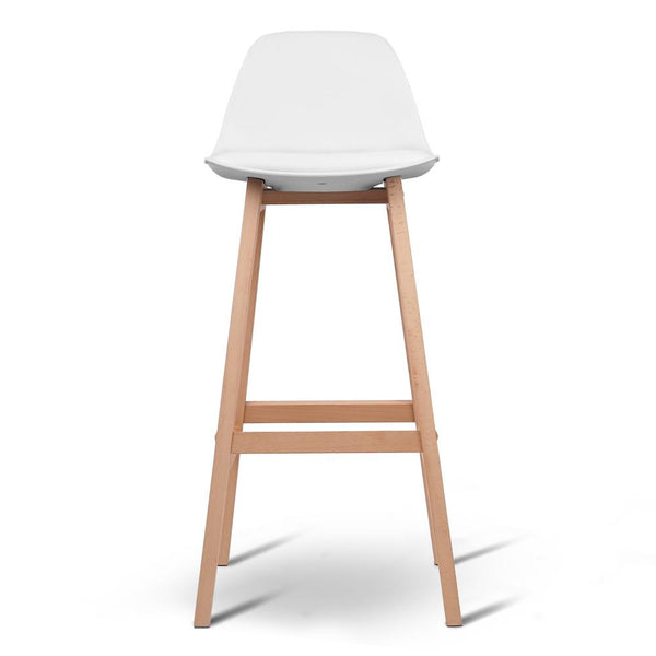 Jacob Bar Stool Set Of 2 White