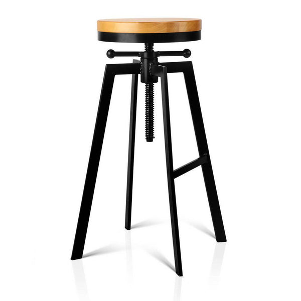 Hercules Bar Stool Black