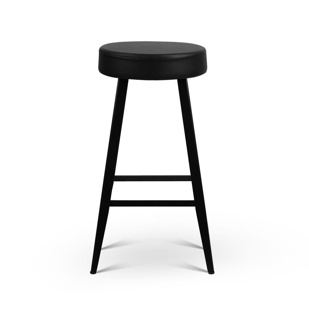 Surprising Swiney Bar Stool Set Of 2 Black Spiritservingveterans Wood Chair Design Ideas Spiritservingveteransorg
