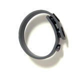 Boneyard Silicone Cock Strap - 3 Snap Ring - Grey
