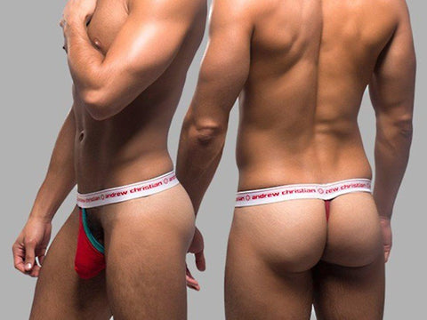 AC9625 STUFFER THONG (RED)