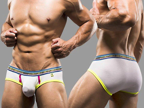 AC9646 NAKED BRIEF (WHITE)