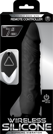 "7"" Remote Control Dong (Black)"