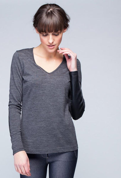 City Bamboo V-Neck