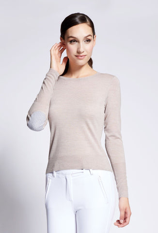 Leia Crew Neck Merino Sweater