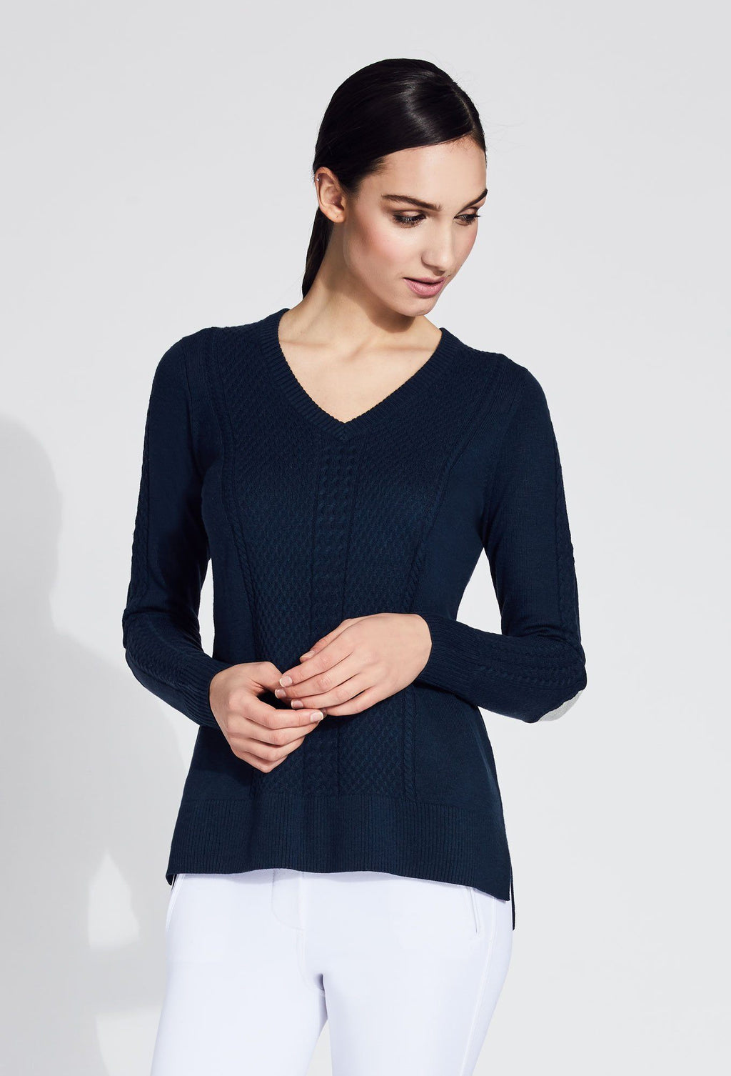 Grace V-Neck Cashmere Sweater