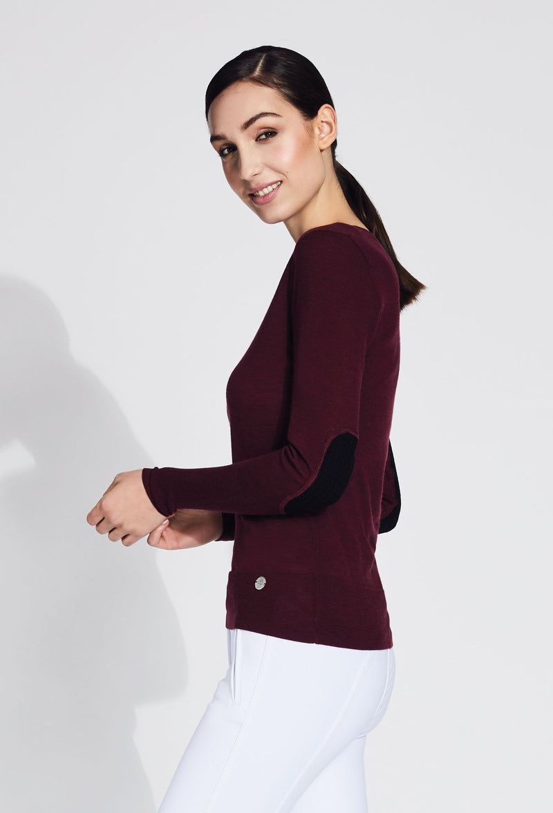 Jesse V-Neck Merino Sweater
