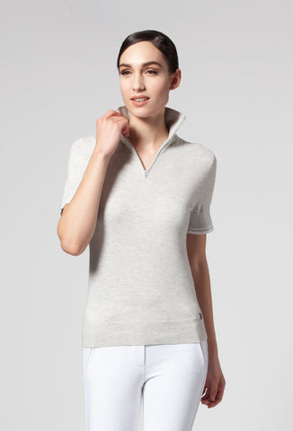 Diana Mesh Short Sleeve Shirt