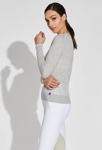 Jane V-Neck Merino Sweater