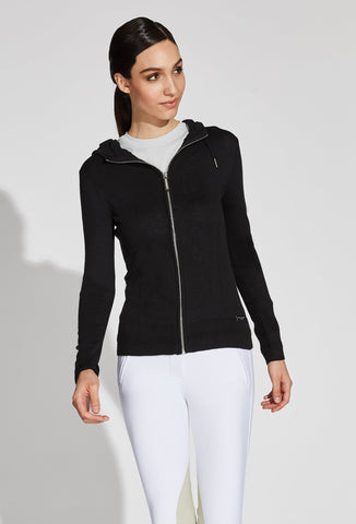 Mica Mesh Zip Up