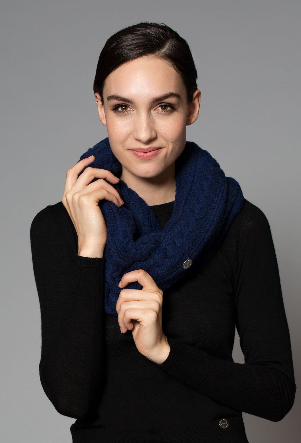 Rose Cashmere Scarf