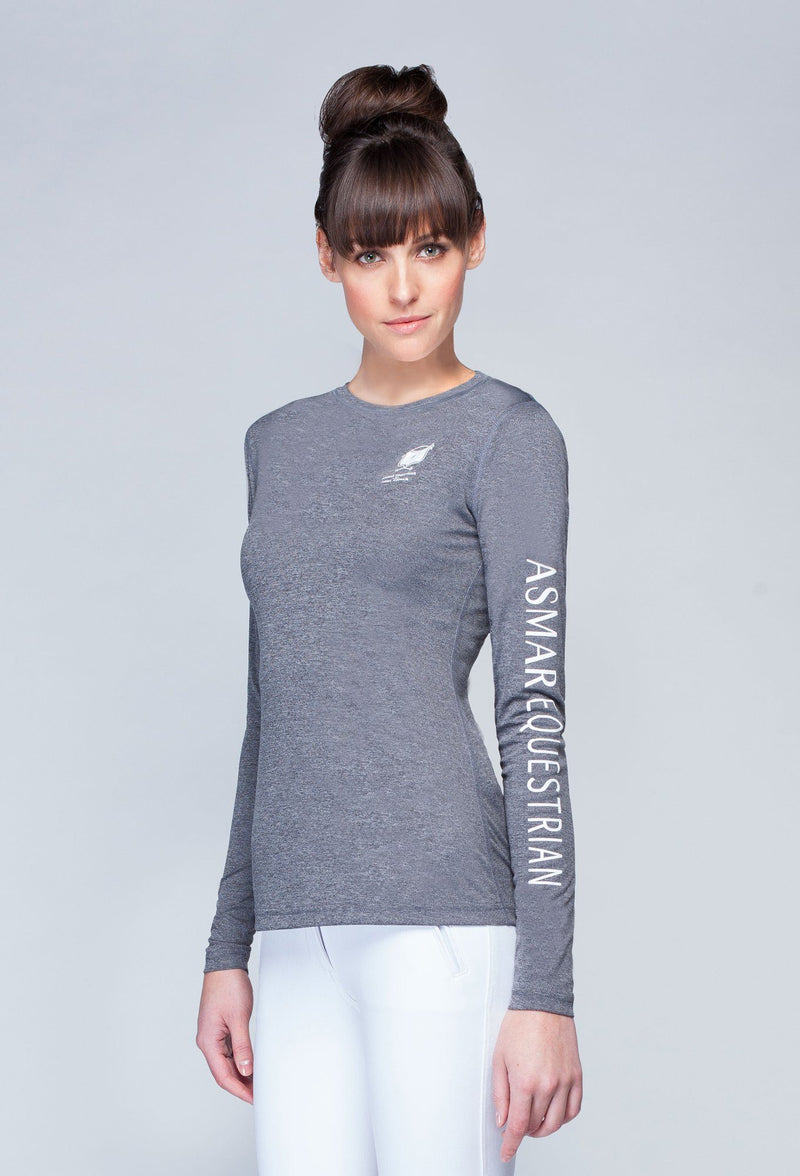 Women's AE Logo Long-sleeved T
