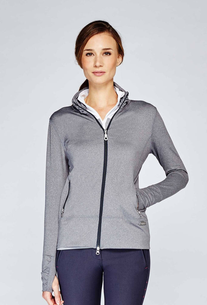 High Collar Warm Up Jacket