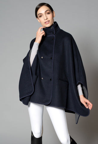Alexandra Wool Cape