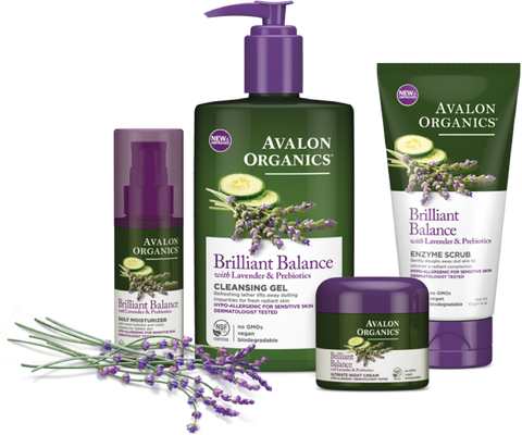 Brilliant Balance with Lavender & Prebiotics Series