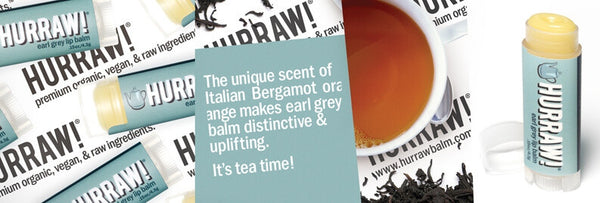 HURRAW! Earl Grey Lip Balm