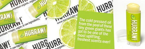HURRAW! Lime Lip Balm