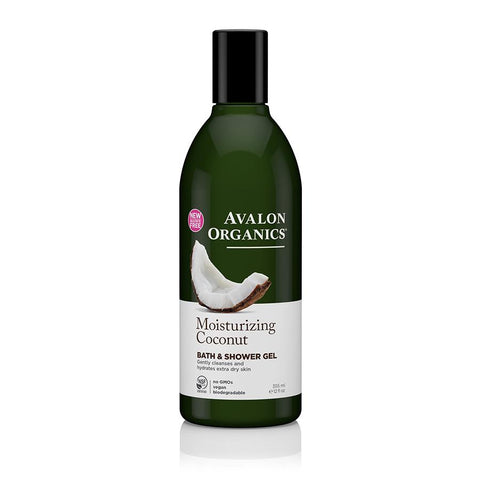 Avalon Organics Coconut Bath & Shower Gel 355ml