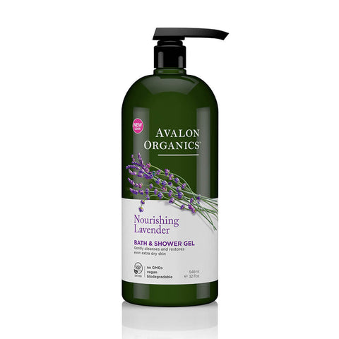 Avalon Organics Lavender Bath & Shower Gel 946ml