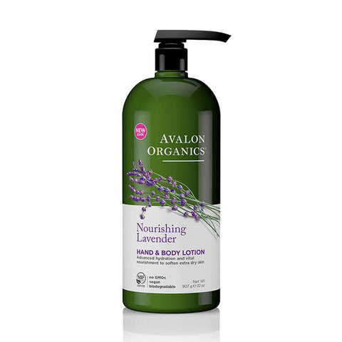 Avalon Organics Lavender Hand & Body Lotion 32oz