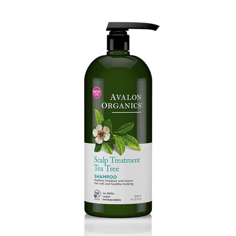 Avalon Organics Tea Tree Scalp Treatment Shampoo 946ml