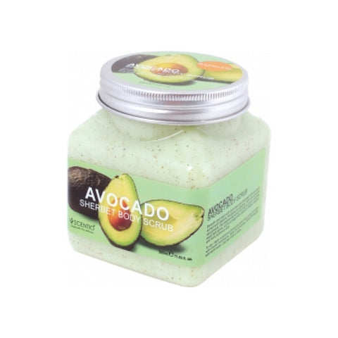 Scentio Avocado Brightening Sherbet Body Scrub 350ml