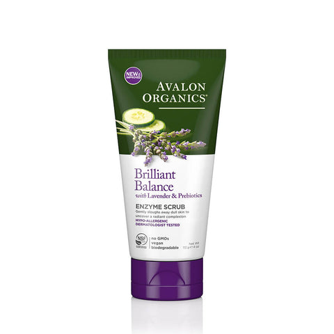 Avalon Organics Brilliant Balance Enzyme Scrub